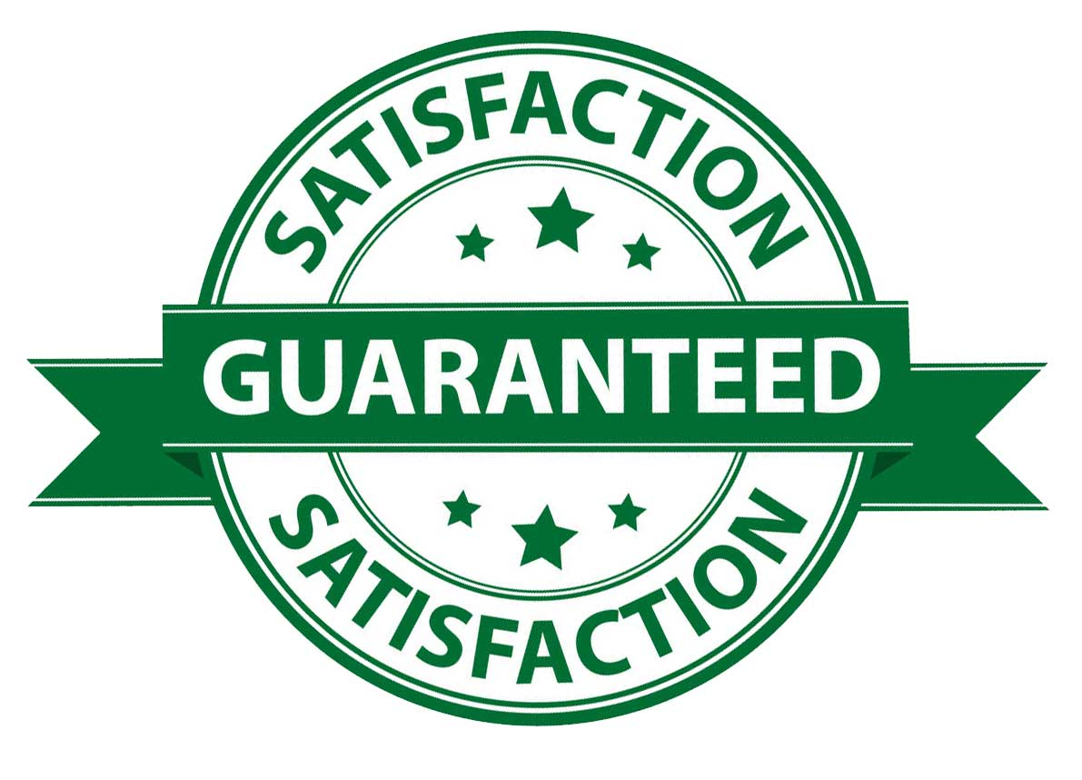 pest control satisfaction 100% guarantee